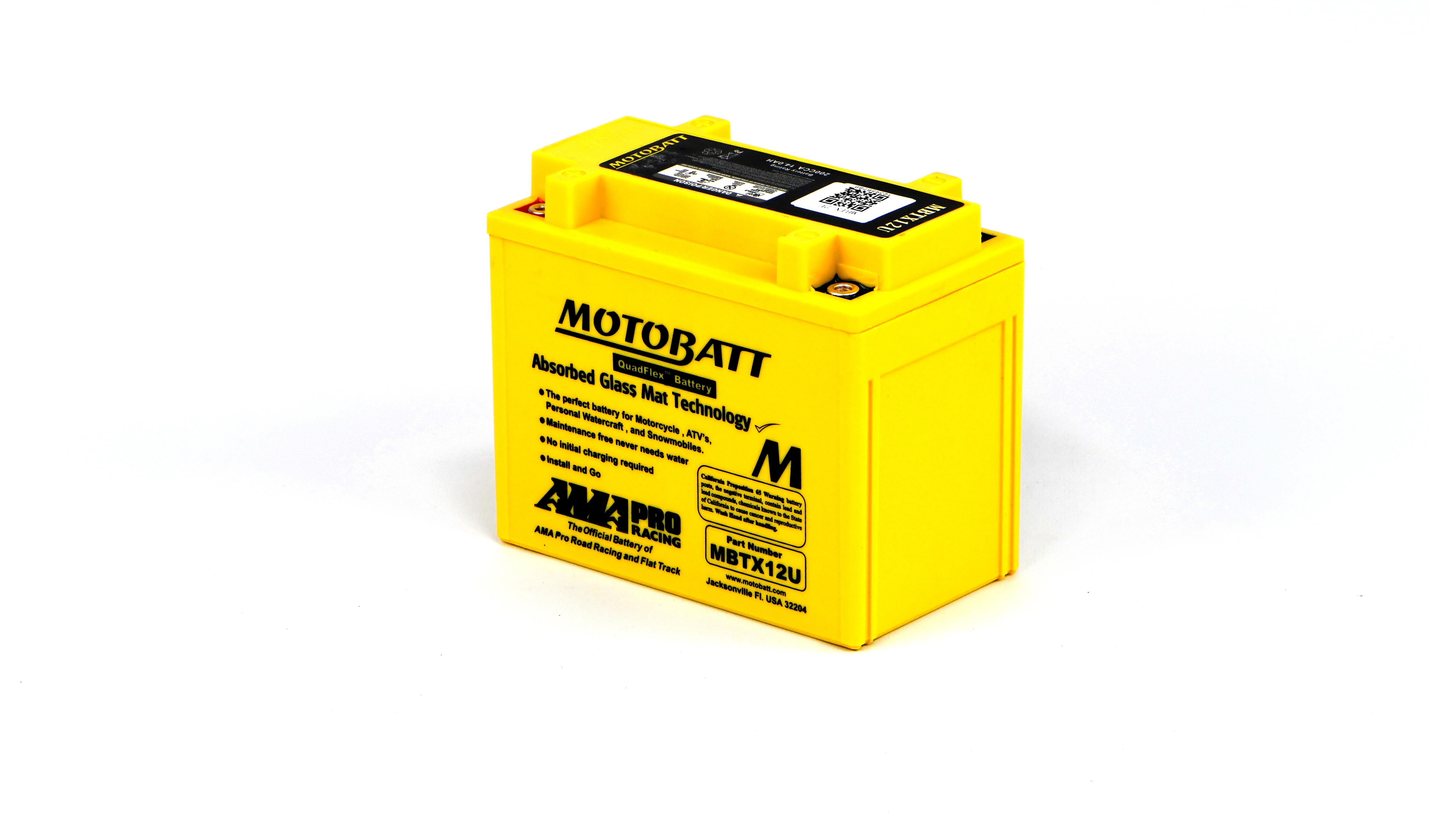 Motobatt Battery For Suzuki GSX-R 750 K8 2008